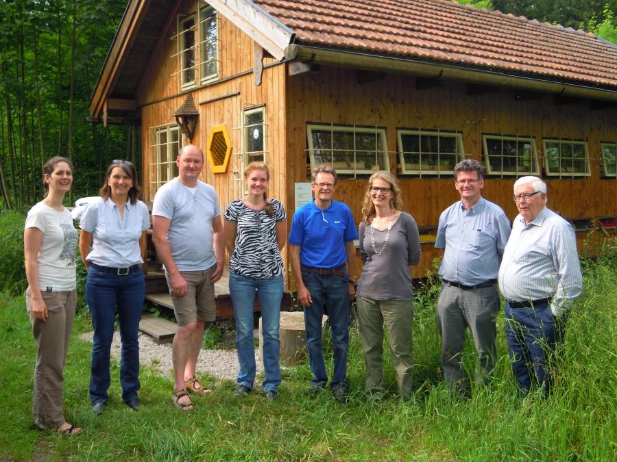 TeilnehmerInnen und Ausbildnerinnen der Probennehmerschulung in Salzburg